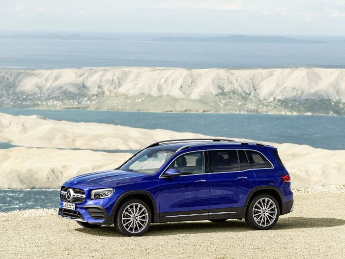 Drei Sitzreihen in kompaktem SUV: Der neue Mercedes-Benz GLB