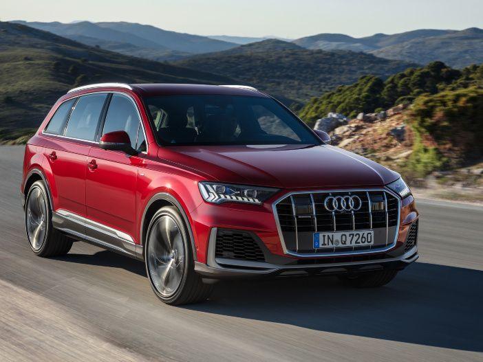 Überarbeitetes Design und aktualisiertes Bedienkonzept: Der neue Audi Q7