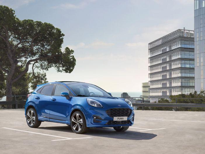 Kompakte Crossover-Raubkatze: Der neue Ford Puma