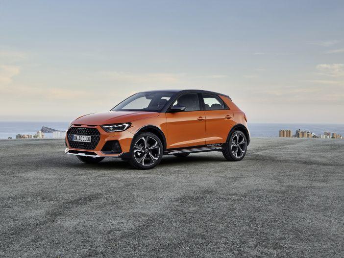 SUV-Look für den kleinsten Ingolstädter: Der neue Audi A1 citycarver