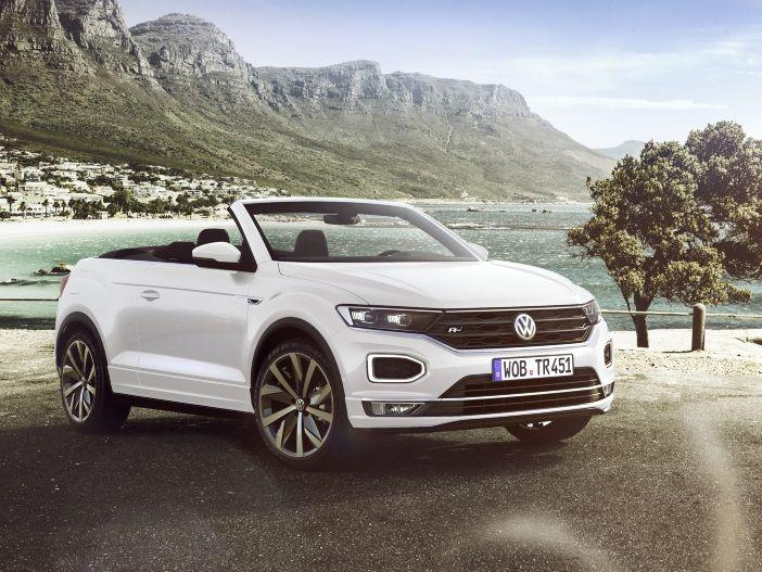 SUV mit viel Frischluft: Das neue VW T-Roc Cabrio