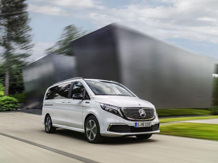 Elektroantrieb und bis zu acht Sitzplätze: Der neue Mercedes-Benz EQV