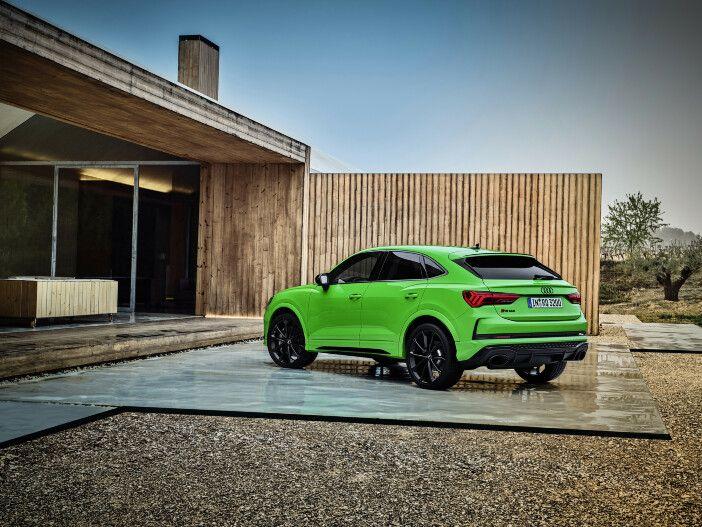 Wahlweise auch als Sportback-Coupé: Der neue Audi RS Q3