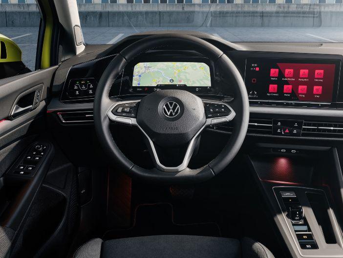 Umfassend digitalisiert: Das Cockpit im neuen Volkswagen Golf