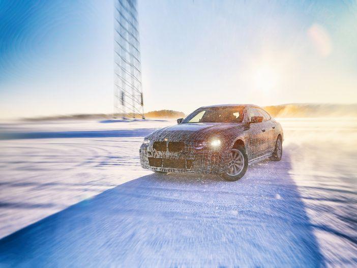 Elektrisch, viel Power und bis zu 600 Kilometer Reichweite: Der neue BMW i4