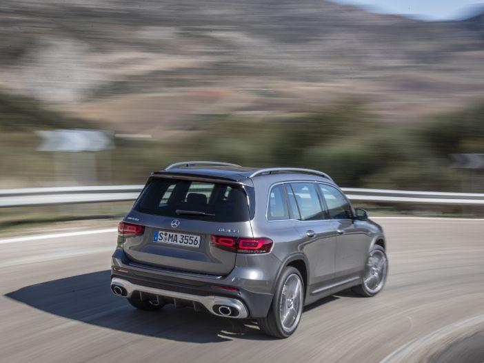 Kompakte SUV-Power: Der neue Mercedes-AMG GLB 35 4MATIC