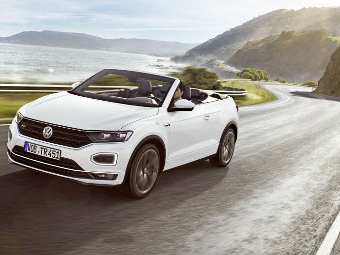 Als Style und R-Line: Das neue Volkswagen T-Roc Cabriolet