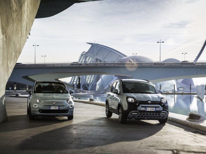 Effiziente Kleinwagen: Fiat stattet die Modelle Fiat Panda und Fiat 500 erstmals mit Hybrid-Technik aus