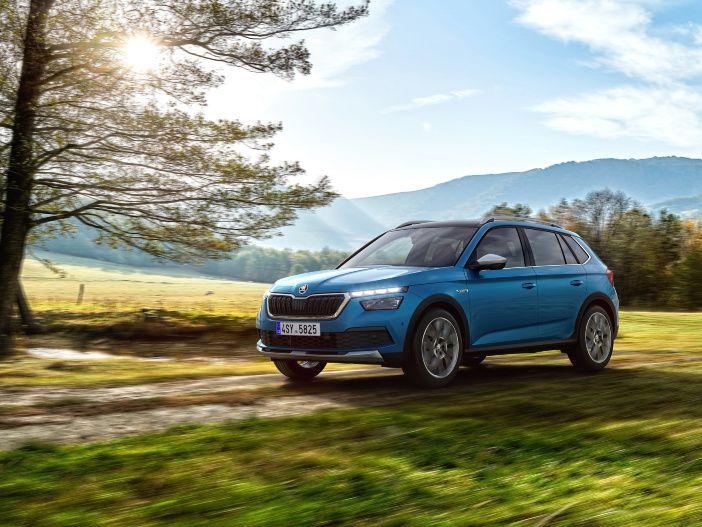 Auto Leasing - Robuster Look im Kleinwagen-Format: Der neue Skoda Kamiq Scoutline