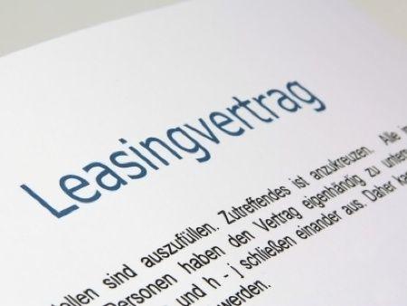 Auto Leasing - Der Leasingvertrag
