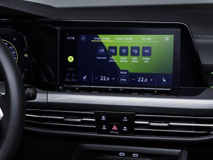 Wärmer oder kälter per Sprachbefehl: Die Air Care Climatronic im neuen VW Golf