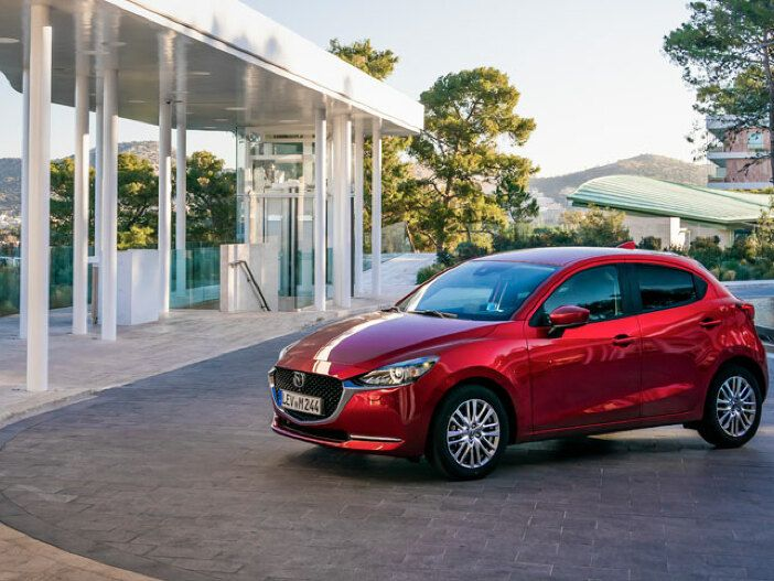 Mild-Hybrid senkt den Verbrauch: Der neue Mazda2