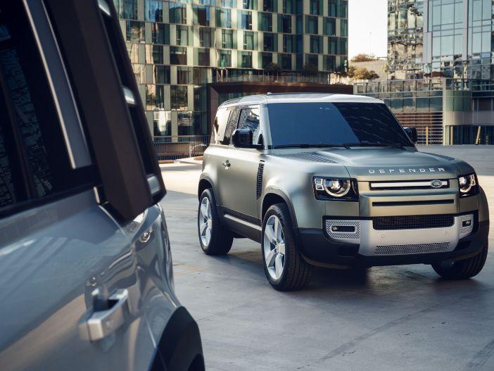 Dreitüriger Kult-Geländewagen: Der neue Land Rover Defender 90