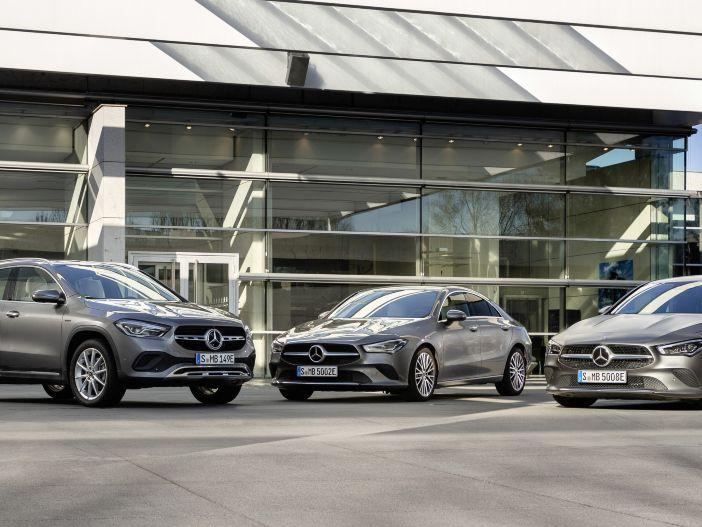 Drei auf einen Streich: Mercedes-Benz bringt den Plug-in-Hybrid in die Kompaktklasse