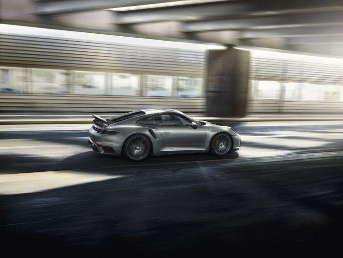 Über-Sportwagen mit Leistungs-Kick: Der neue Porsche 911 Turbo S
