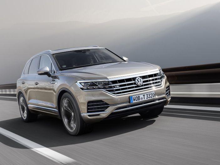 Geringe Emissionen dank moderner Abgasnachbehandlung: Der leistungsstarke V8 TDI im Volkswagen Touareg