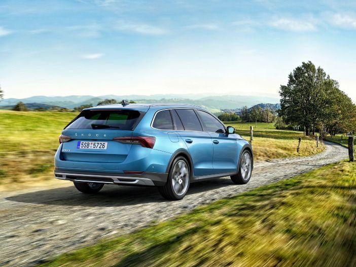 Auto Leasing - Robuster Kombi mit dezentem Gelände-Look: Der neue Skoda Octavia Scout