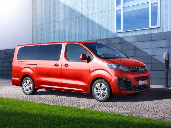 Elektrischer Kleinbus mit viel Platz: Der neue Opel Zafira-e Life