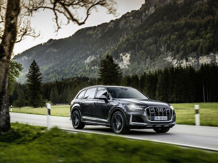 Auto Leasing - Leistungsstarker Achtzylinder: Neues Triebwerk für den Audi SQ7 und SQ8