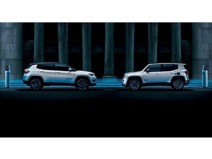 Die ersten Jeeps mit Plug-in-Hybrid: Der neue Jeep Renegade 4xe und der neue Jeep Compass 4xe