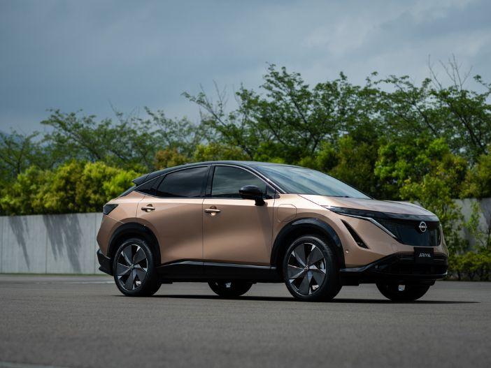 Stylischer Stromer: Der neue Nissan Ariya