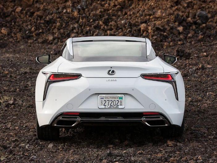 Modernes Premium-Sportcoupé: Lexus aktualisiert den Lexus LC