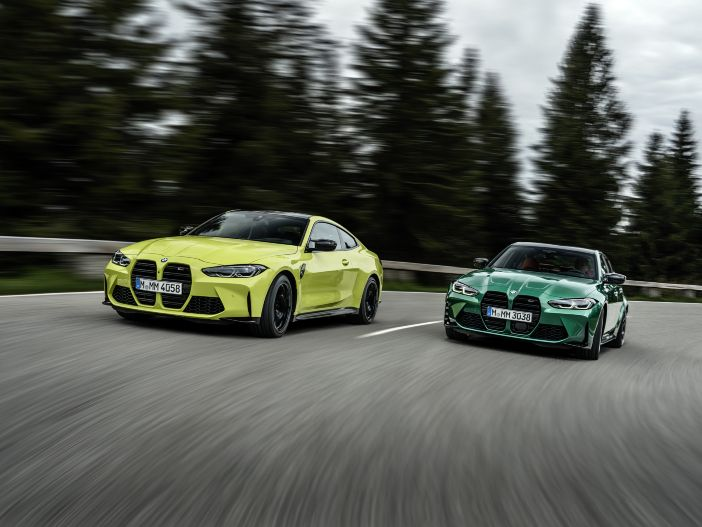 Pure Sportlichkeit, neu aufgelegt: BMW M3 & BMW M4