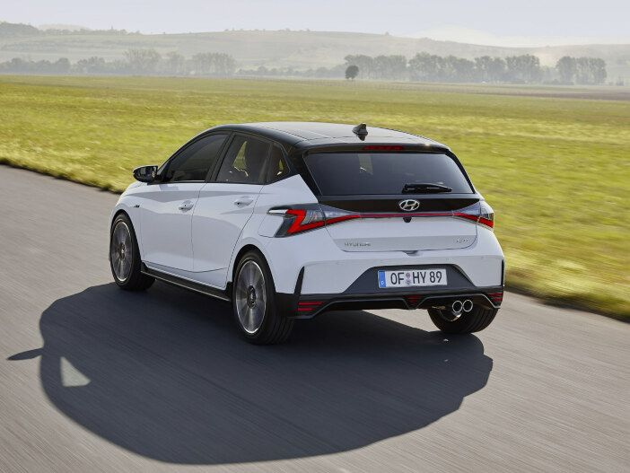 Kleinwagen im Sport-Dress: Der neue Hyundai i20 N Line