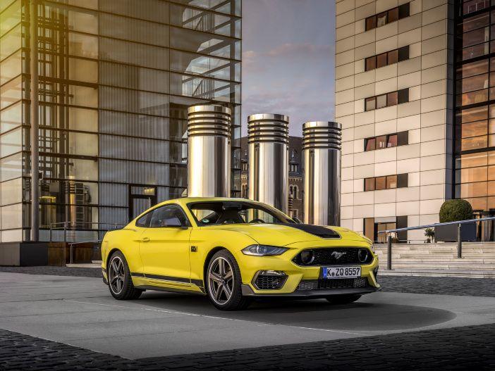 Auto Leasing - Viel Power, spezielles Fahrwerk: Der neue Ford Mustang Mach 1