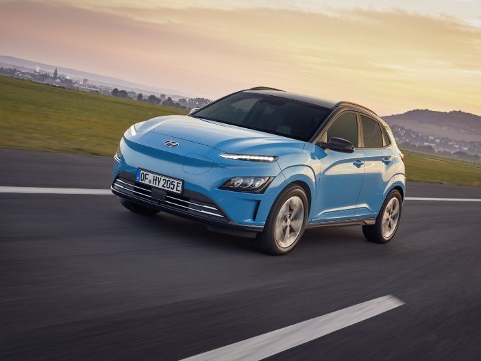 Neues bei Optik und Technologie: Der aktualisierte Hyundai Kona Elektro