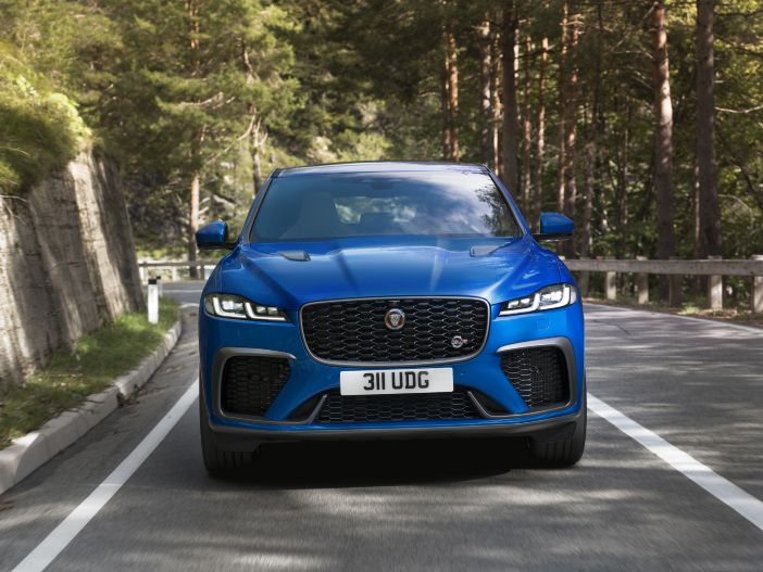 Auto Leasing - Weiter nachgeschärft: Der neue Jaguar F-Pace SVR