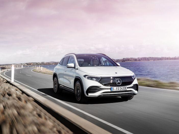 Elektrischer Kompakt-SUV: Der neue Mercedes EQA