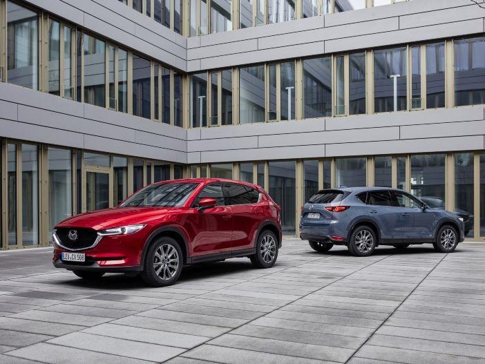 Auto Leasing - Schicker Crossover: Mazda wertet den CX-5 weiter auf
