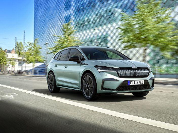 Auto Leasing - Schöner fahren: Das Interieur des neuen Skoda Enyaq iV