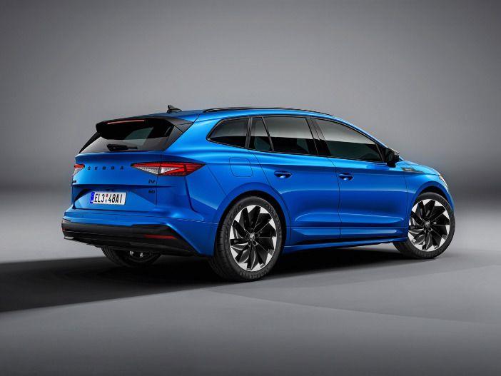 Auto Leasing - Sportfahrwerk und viele optische Highlights: Der neue Skoda Enyaq Sportline iV
