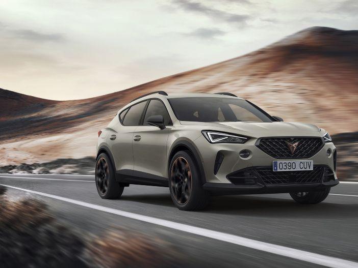 Auto Leasing - SUV-Coupé mit leistungsstarkem Fünfzylinder: Der neue CUPRA Formentor VZ5