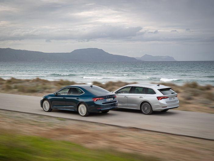 Auto Leasing - Leistungsstark: Neue Benziner für den Skoda Octavia und den Skoda Superb