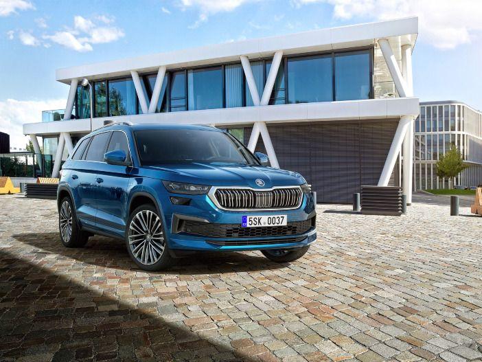 Auto Leasing - SUV mit neuer Frontpartie: Der aktualisierte Skoda Kodiaq