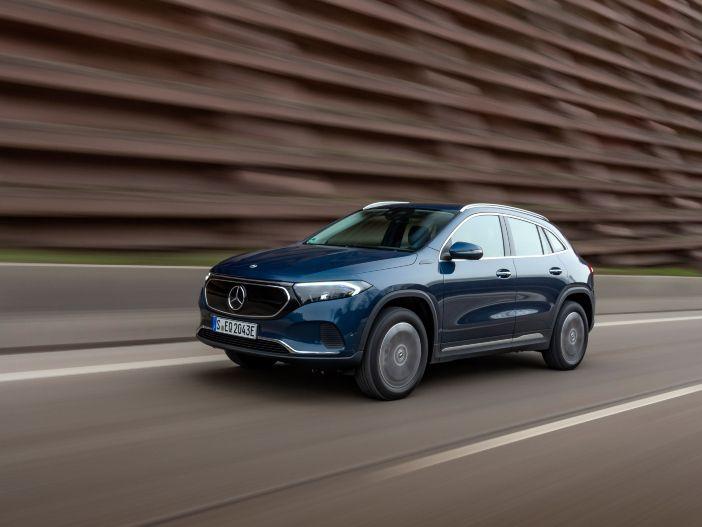 Auto Leasing - Allrad für den kompakten Stromer: Zwei neue Varianten für den Mercedes EQA
