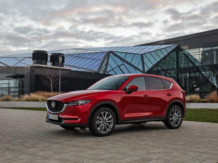 Auto Leasing - Geringerer Verbrauch, mehr Ausstattung: Der aktualisierte Mazda CX-5