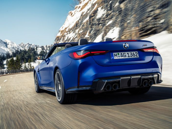 Auto Leasing - Leistungsstark und mit M xDrive Allrad: Das neue BMW M4 Competition Cabrio