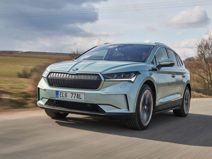 Auto Leasing - Elektro-SUV mit Extra-Kick: Der neue Skoda Enyaq iV 80x