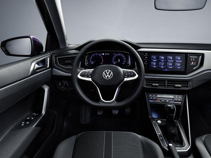 Auto Leasing - Modernes Armaturenbrett: Das digitale Cockpit im neuen VW Polo