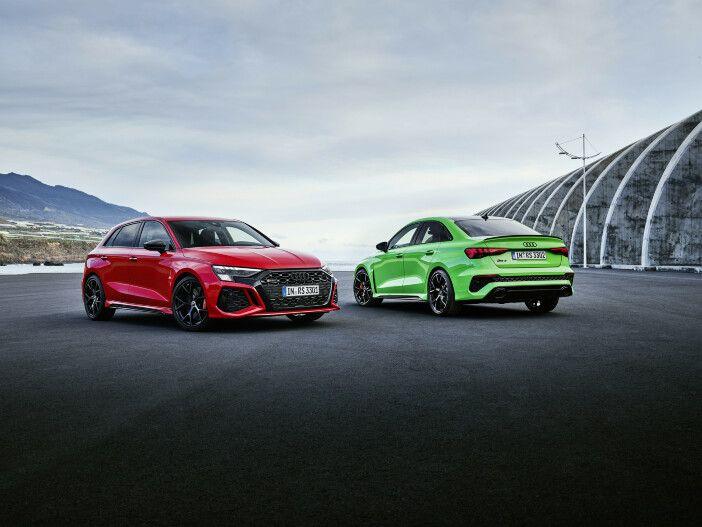 Auto Leasing - Kompakte Sportler als Limousine oder Sportback: Die neuen Audi RS 3 Modelle
