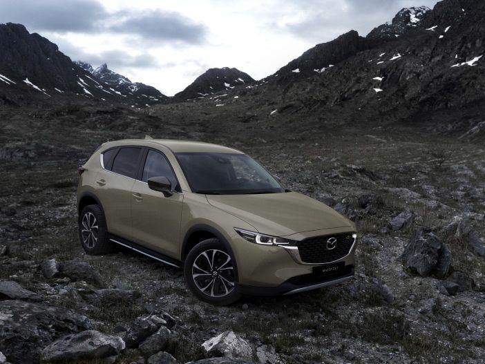 Auto Leasing - SUV mit Neuerungen: Der Mazda CX-5 für das Modelljahr 2022