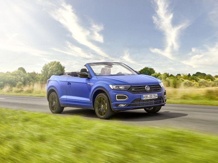 Auto Leasing - Offener SUV mit besonderer Farbstellung: Das neue VW T-Roc Cabrio R-Line Edition Blue