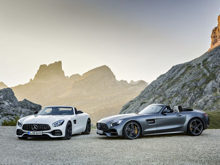 Auto Leasing - Mercedes-AMG GT Roadster und GT C Roadster