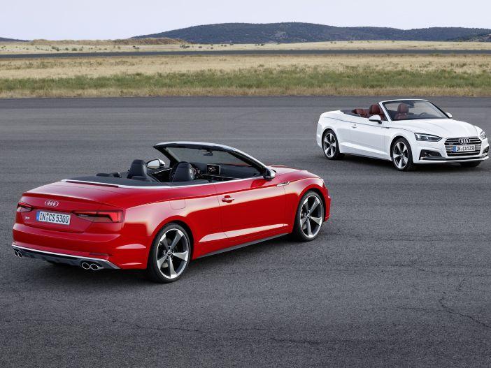 Das neue A5 Cabrio von Audi
