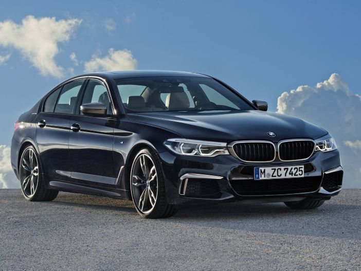 Power für die Business Class: Der neue BMW M550i xDrive