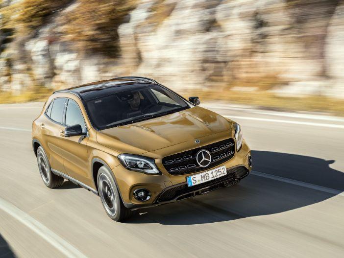 Feinschliff am Mercedes GLA